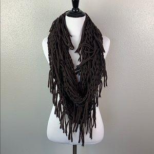Steve Madden purple infinity scarf